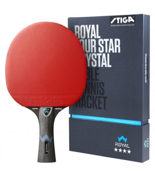 Racchetta pre-assemblata STIGA Royal Crystal 4-Stelle