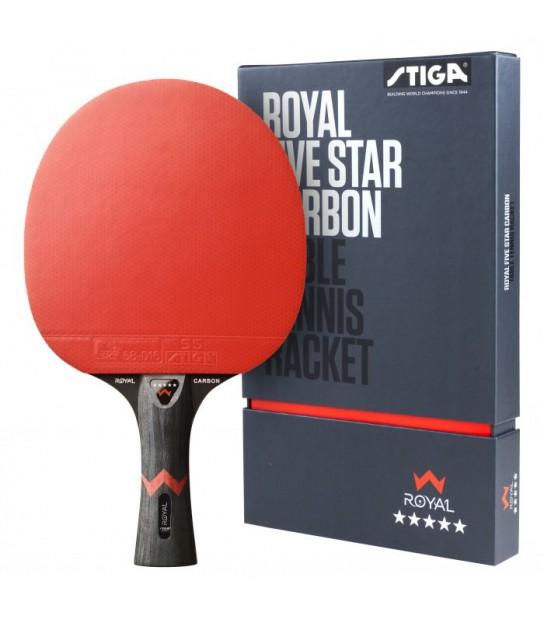 Racchetta pre-assemblata STIGA Royal Carbon 5-Stelle